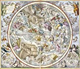 Andreas Cellarius Map of the Christian Constellations as Depicted by Julius S...