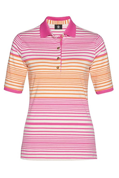 Bogner Deportes Golf Polo Camiseta Nadina, Color 738 Sandy Beige ...