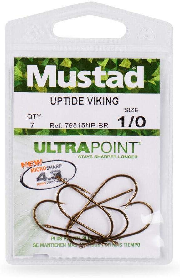 Mustad 79515NP-BR-1 Uptide Viking Hook Bags