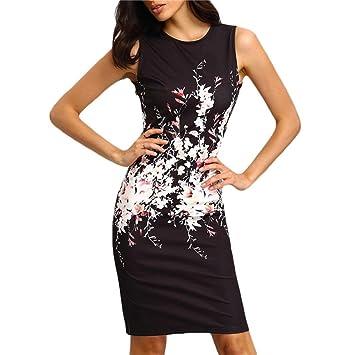 Mujer vestido largo Delgado de fiesta noche citas,Sonnena Vestido de fiesta noche sin mangas