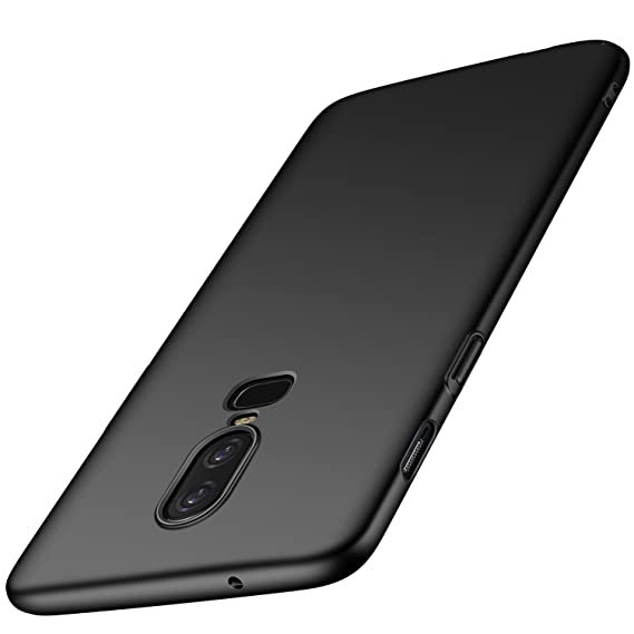 official photos f8843 0123f Amazon.com: kqimi oneplus 6 Case [Ultra-Thin] Premium Material Slim ...