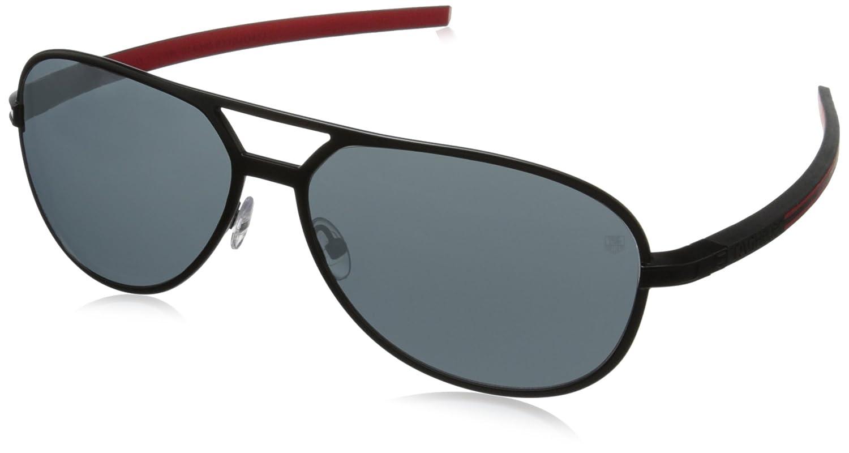 Tag Heuer Senna Racing 986 101 986101 Aviator Sunglasses, Black
