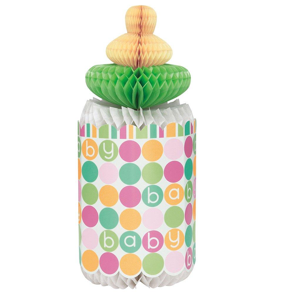 Unique 16 Count Pastel Baby Shower Beverage Napkins, Multicolor 42351