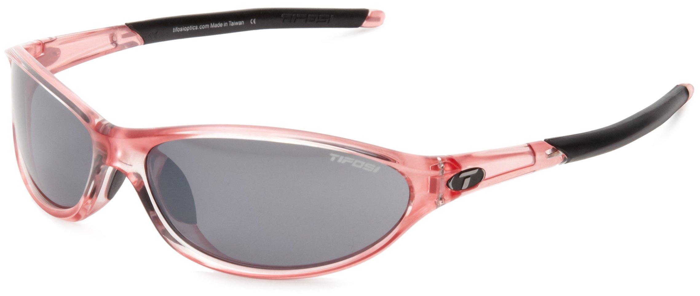 Tifosi womens Alpe 2.0 Single Lens Sunglasses,Crystal Pink,62 mm