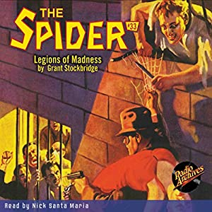 Spider #33, June 1936 Audiobook