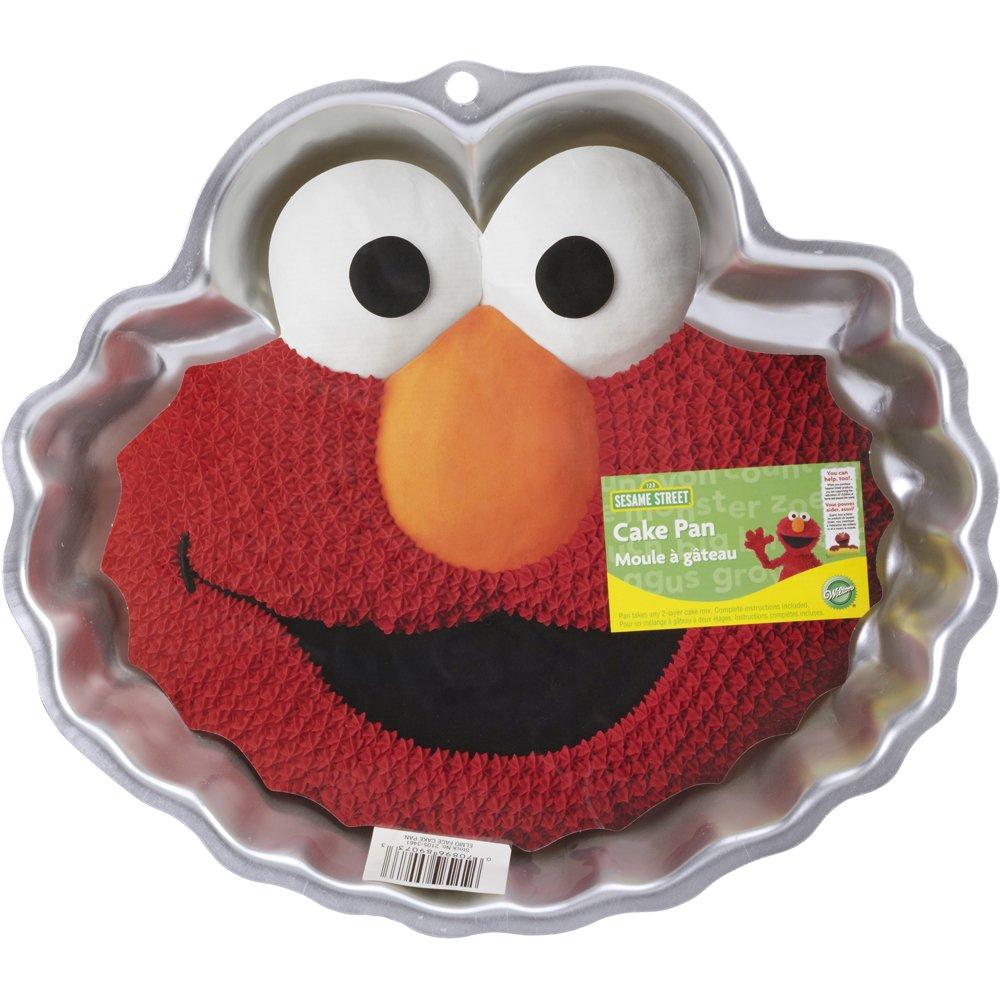 Amazon Wilton 2105 3461 Elmo Face Cake Pan Novelty Cake Pans