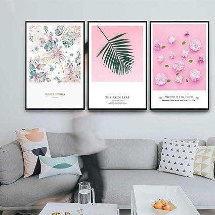 Bilder Auf Leinwand Triptychon,3 Pcs Einfache Und Schöne ...
