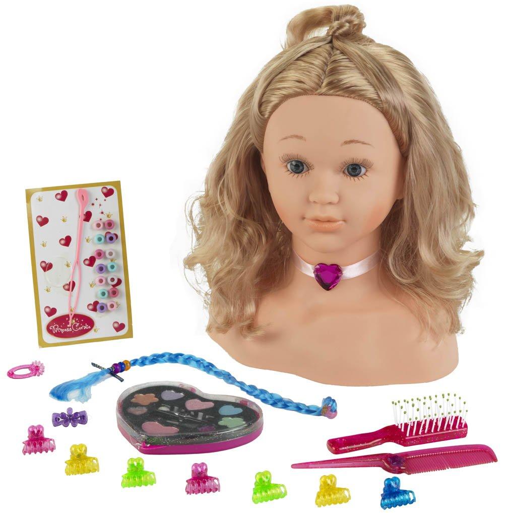 Theo Klein 5240 - Princess Coralie Cabeza Para Maquillar Y Peinar