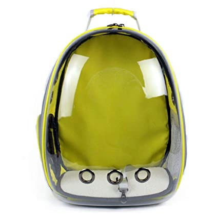 f18ac2e65883 Amazon.com : LIAOYLY Portable Pet Travel Carrier Backpack Space ...