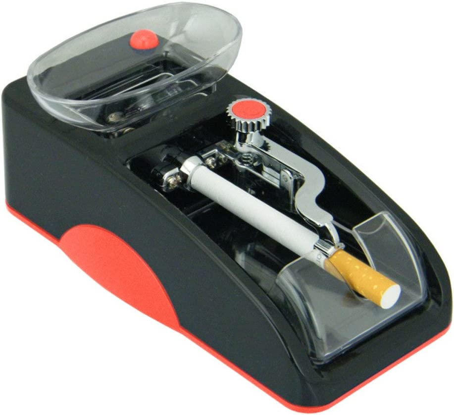 Littleice Electric Automatic Cigarette Rolling Machine Tobacco Injector Maker Roller