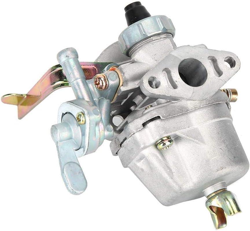 Carburador Carb Motocicleta Conversi/ón para 47cc 49cc Mini Moto Engine Pocket Dirt Bike Parts ATV Quad 13mm