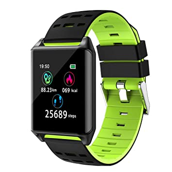 Amazon.com: JinJin Smart Watch for Android iOS Phone 2019 ...