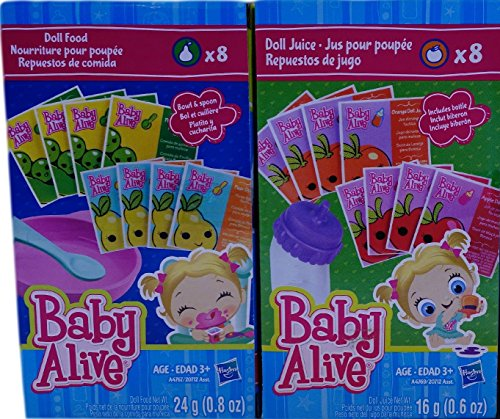 Baby Alive Doll Food Juice Accessory Pack Buy Online In Ksa Toys And Games Products In Saudi Arabia See Prices Reviews And Free Delivery In Riyadh