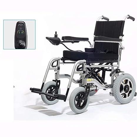 wheelchair Silla de Ruedas eléctrica portátil, Plegable y de ...