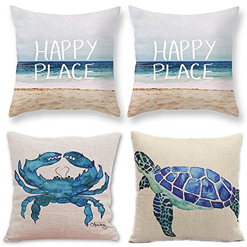 TUOKAY Watercolor Turtle Decorative Cushion product image
