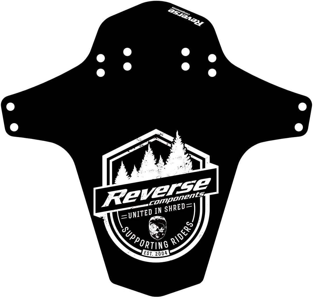 Reverse Supporting Riders Mudfender Schutzblech schwarz