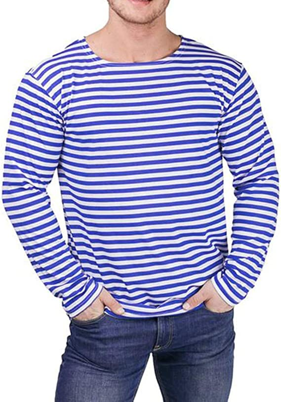 Telnyashka Russian T-shirt Sailor for children 100/% cotton Navy