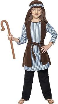 Halloweenia – Disfraz Infantil Pastor para el belén Juego, gewand ...