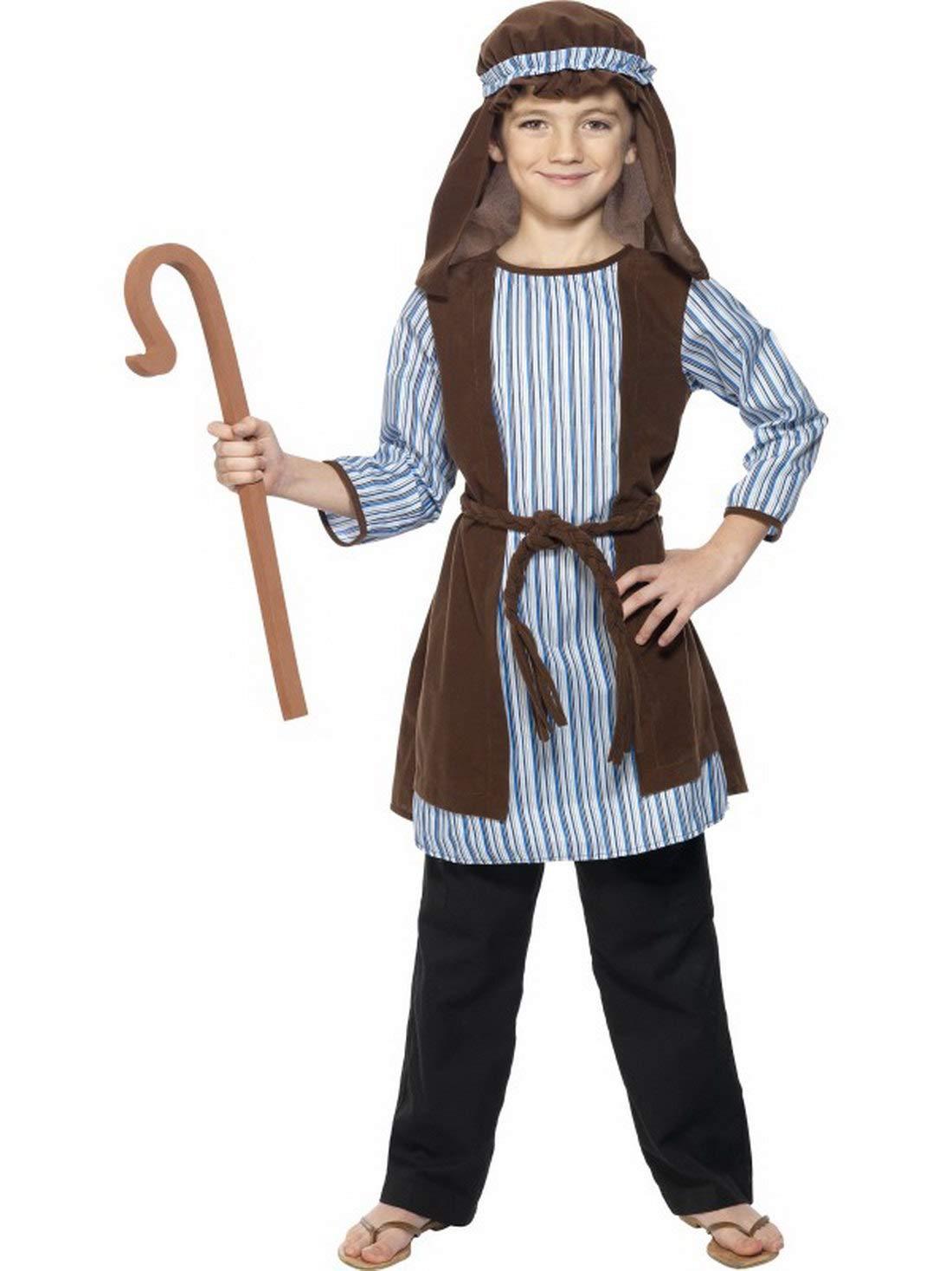 Halloweenia - Disfraz Infantil Pastor para el belén Juego ...