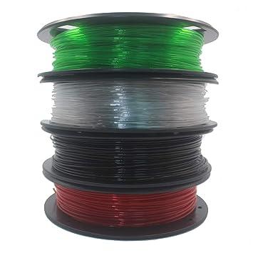 Wenquan,Práctica Impresora 3D filamento PETG filamento 200G ...