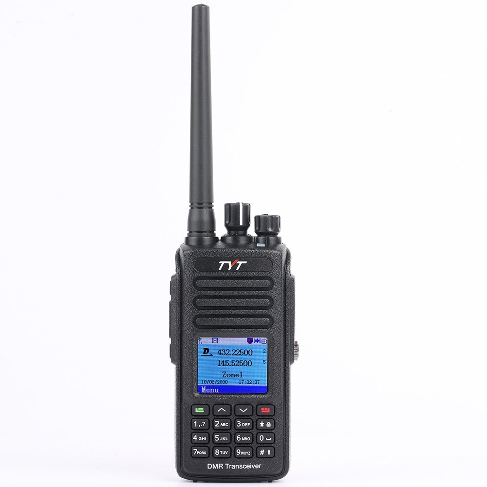 Amazon.com: TYT MD-UV390 Digital Mobile Radio Dual Band Ham Radio W/GPS  136-174Mhz/400-480Mhz Transceiver: Car Electronics