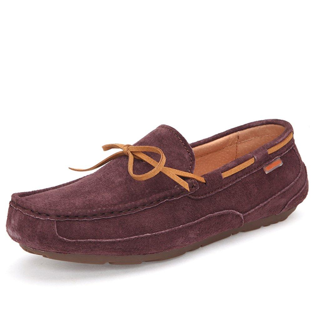 Otoño invierno zapatos de frijol/ Añadir zapatos de Cachemira los hombres/Versión coreana de la tendencia de los zapatos ocasionales-C Longitud del pie=24.3CM(9.6Inch) Zapatos azul marino PALLADIUM para mujer Zapatos grises New Balance para hombre 6PSjOMDwxx