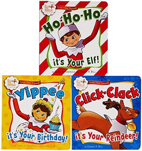 Elf on the Shelf Scout Elves Present: Hooray! It's Your First