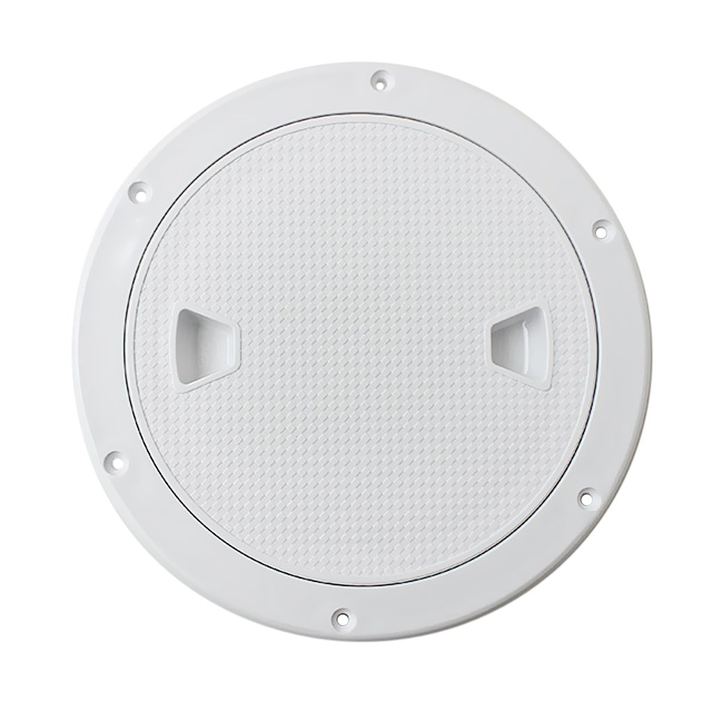 MonkeyJack Marine 4'' 6'' 8'' Boat Round Non Slip Inspection Hatch with Detachable Cover