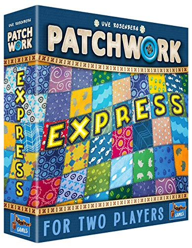 Lookout Games LK3543, Patchwork Express, Multicolor