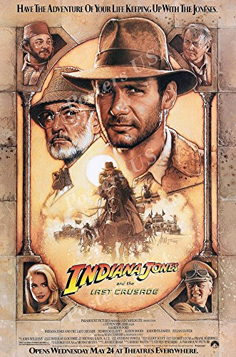 - Posters USA - Indiana Jones and the Last Crusade Movie Poster GLOSSY FINISH) - MOV063 (24