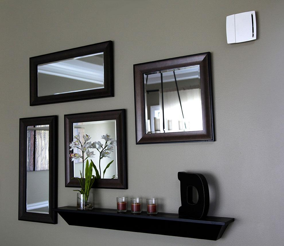 First alert pc910 10 year 2 in 1 photoelectric smoke for Living room wall mirrors