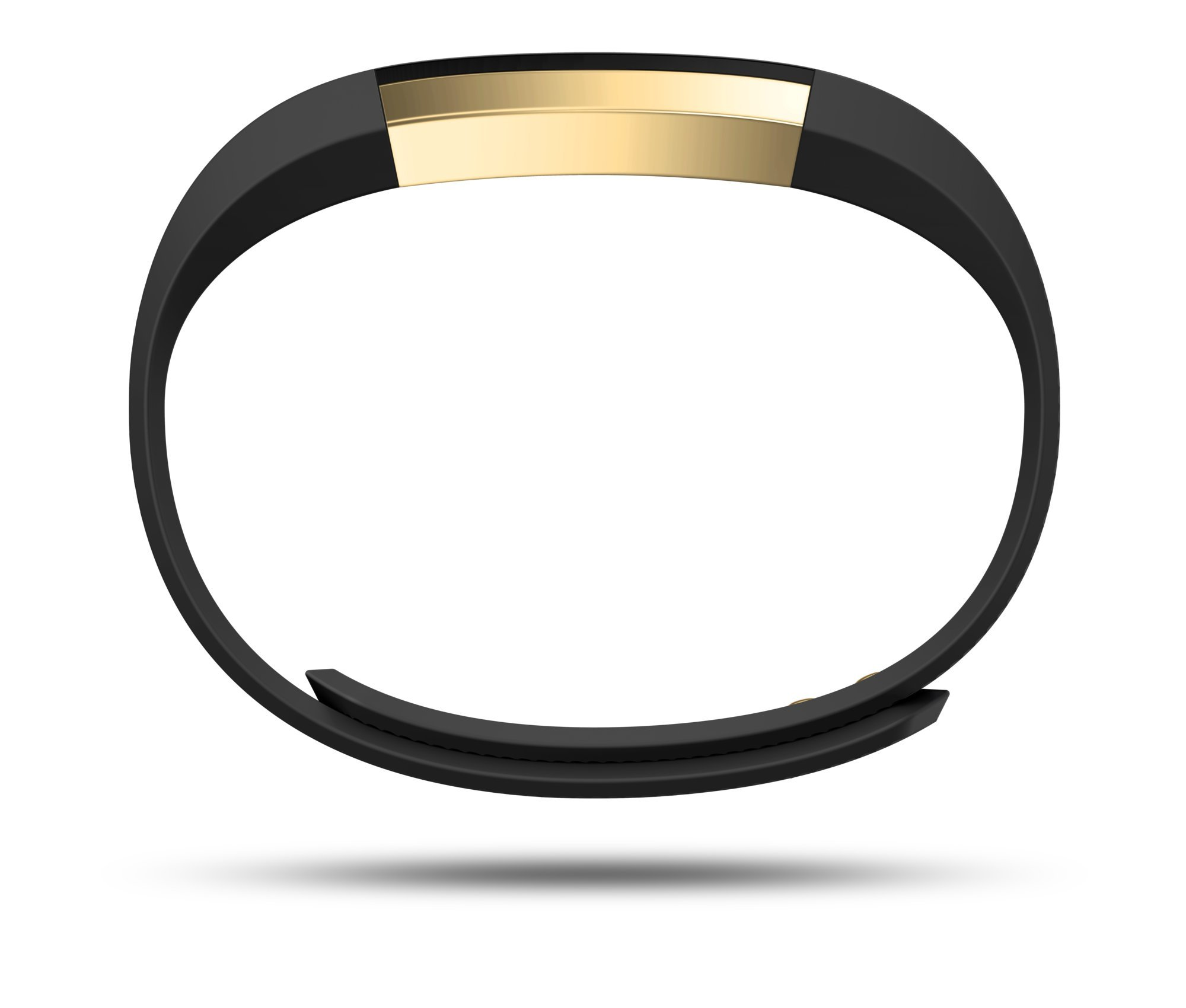 Fitbit Alta Fitness Tracker, Special Edition Gold, Black, Small (US Version) by Fitbit (Image #2)