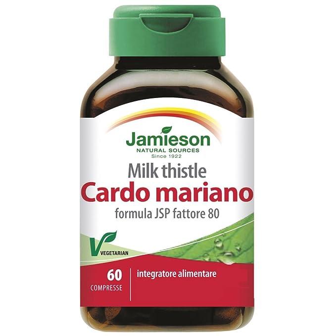 1 opinioni per Cardo Mariano MILK THISTLE 60 cps-