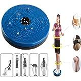 Della vita di torsione di torsione Disco Consiglio esercizio aerobico Fitness Riflessologia Magneti Balance Board esercizio attrezzature (Blu)