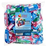 Airheads Bulk - Bulk Candy - Air Heads Mini Bars Variety Pack, Watermelon, Cherry, Blue Raspberry, Chewy Fruit Candies 3 lb Party Bag, Family Size