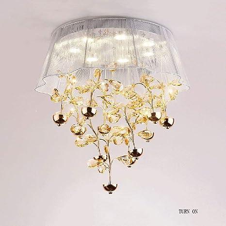 Lámparas de techo- post-moderna lámpara de techo de cristal ...
