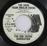 The Bob Crewe Generation 45 RPM The Song From Moulin Rouge / Winter Warm