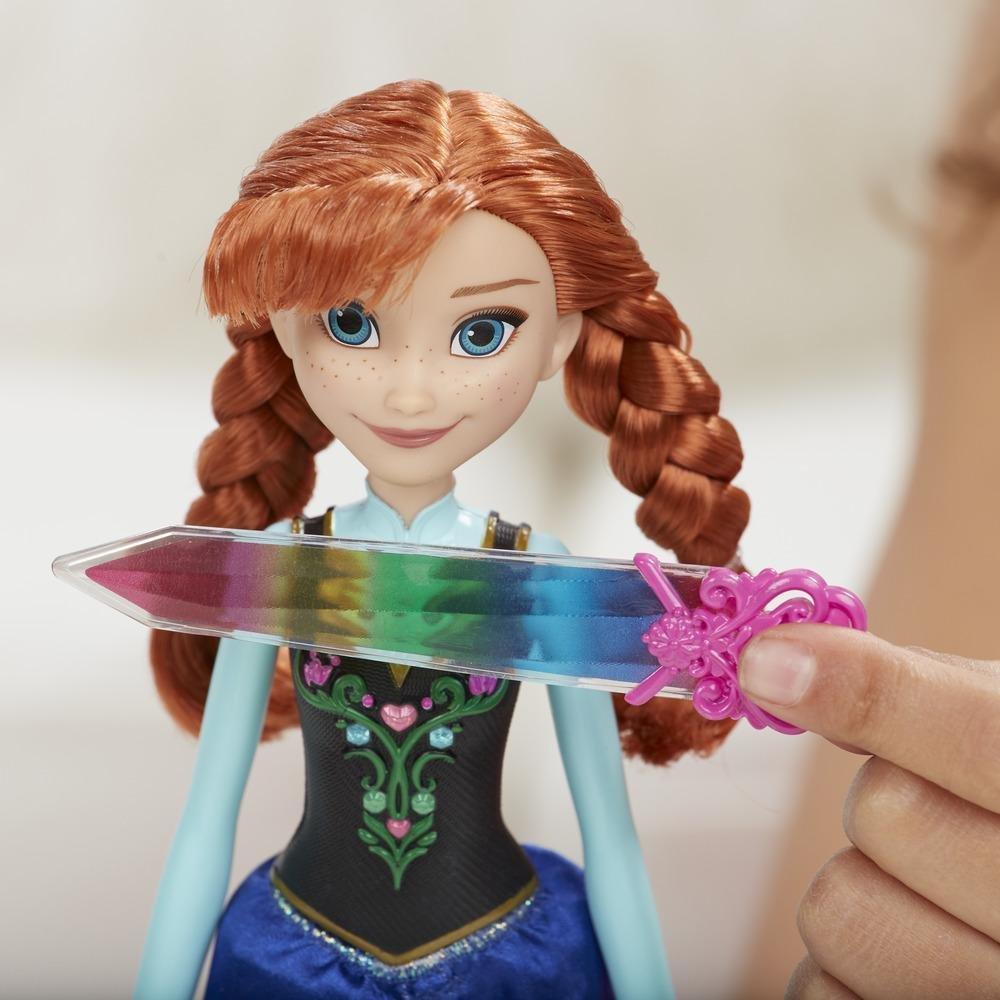 Hasbro Disney Frozen Annas funkelnder Kristallzauber Film- & TV-Spielzeug