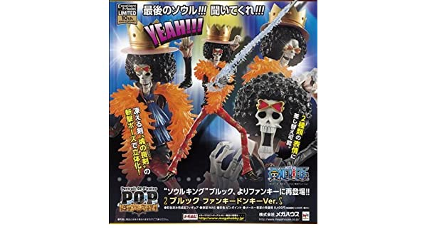 Portrait Of Pirates One Piece Series Sailing Again Brook Funky Donkey ver Japan