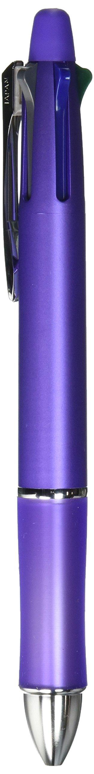 Pilot Multi Function Pen Dr. Grip, 0.5mm Acro Ink Ballpoint Pen, 0.5mm Mechanical Pencil, Lavender (BKHDF1SEF-LA) by Pilot (Image #2)