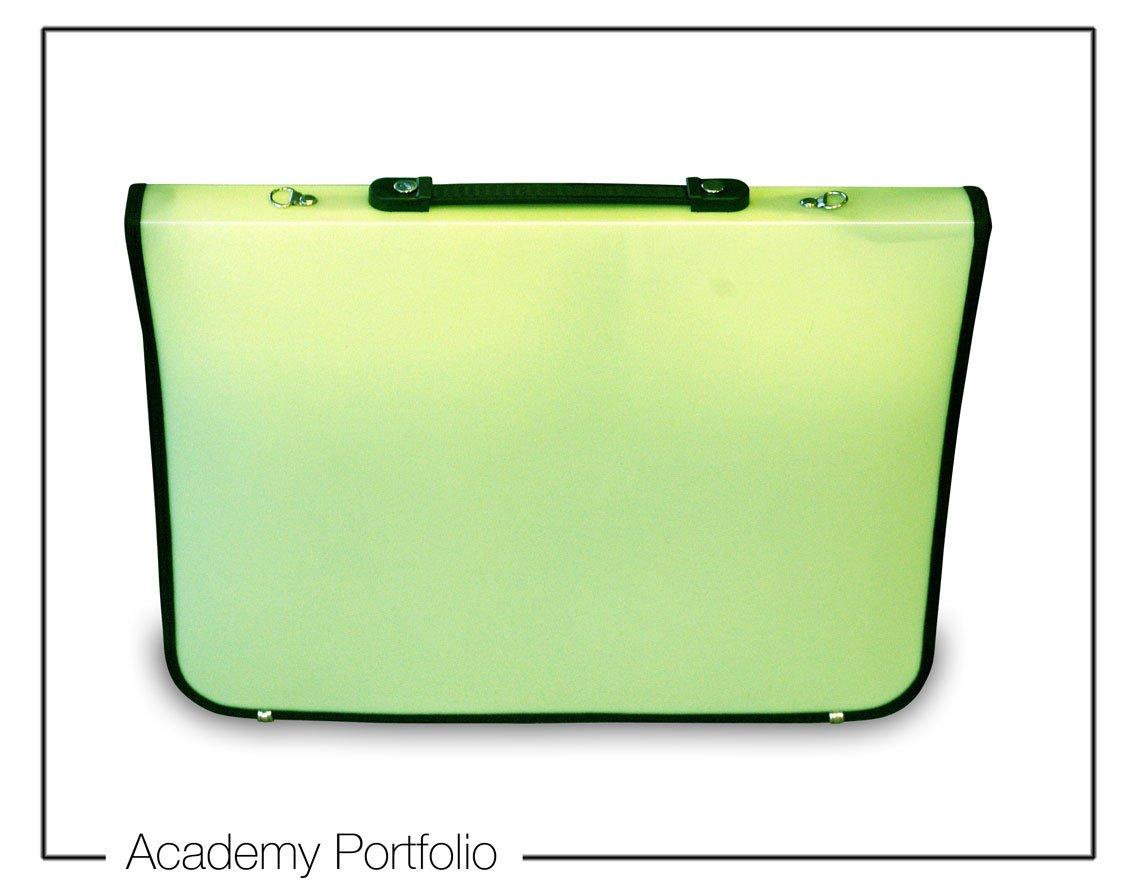 Artcare 15214010 Valigetta per accademia in materiale sintetico, formato A3, colore: lime, 48 x 4 x 35 cm 48x 4x 35cm Mapac