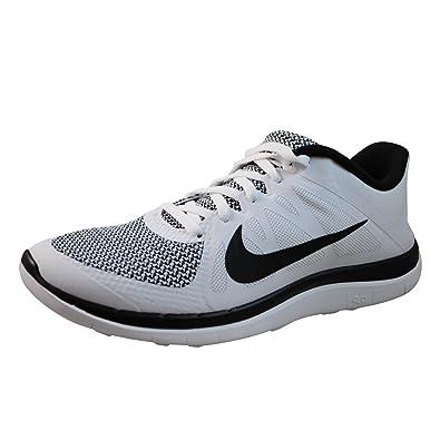quality design 7082b c5937 Nike Men s Free 4.0 V4 Running Shoe (8.5 D(M) US, White