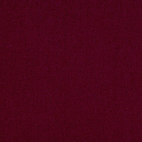 Burgundy Cotton Fabric (Cotton Twill Burgundy Fabric By The Yard)