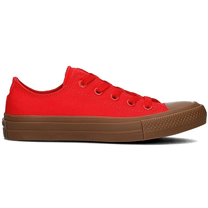 7caee5a26dc23 Amazon.com: Converse - Chuck Taylor II Unisex - 155499C - Color: Red ...