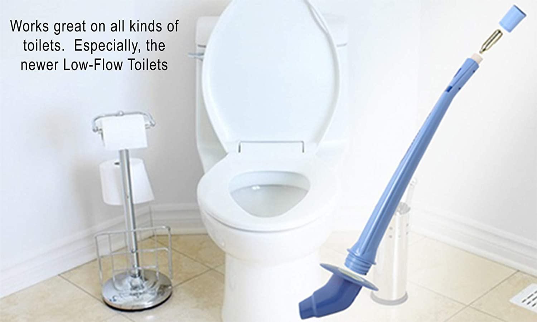 Amazon.com: SurePlunge Automatic Toilet Plunger. Amazing CO2 Power ...
