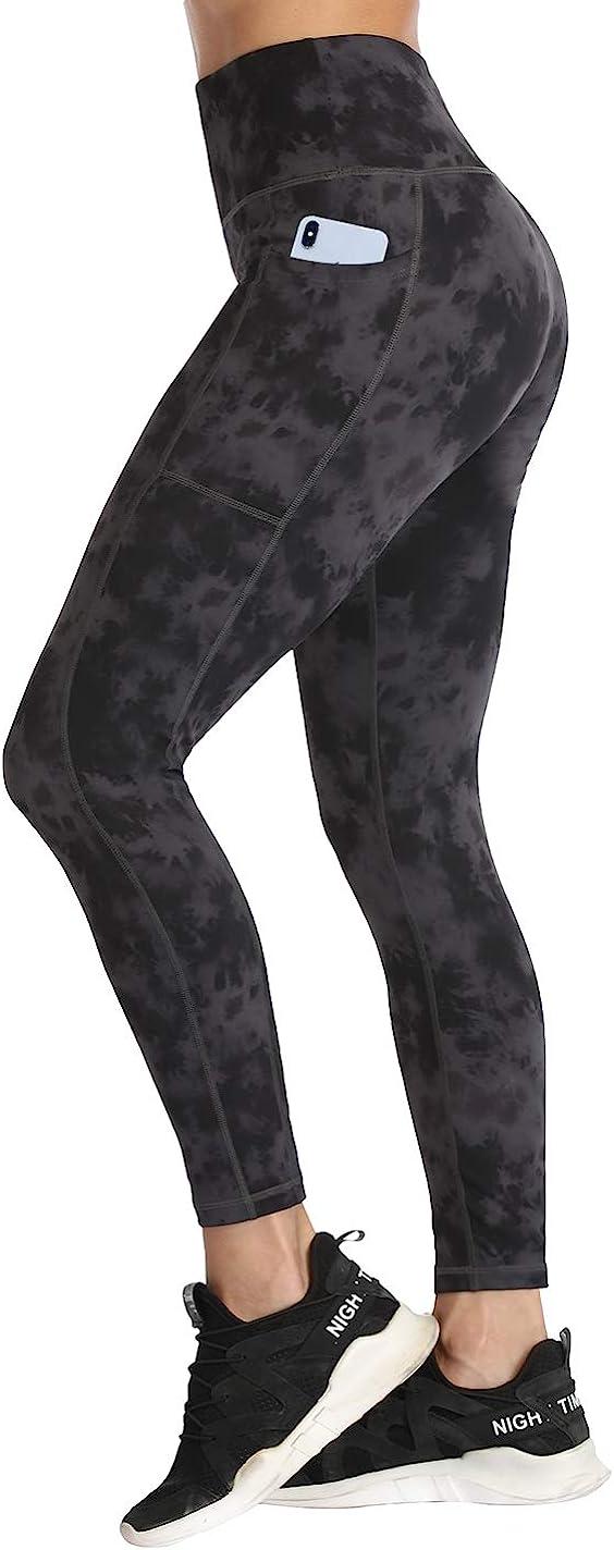 Womens High Waist Yoga Shorts Pocket Gym Cycling Biker Hot Pants Sports Leggings
