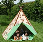 Wigwam Teepee Play Tent -Canvas - Cow...