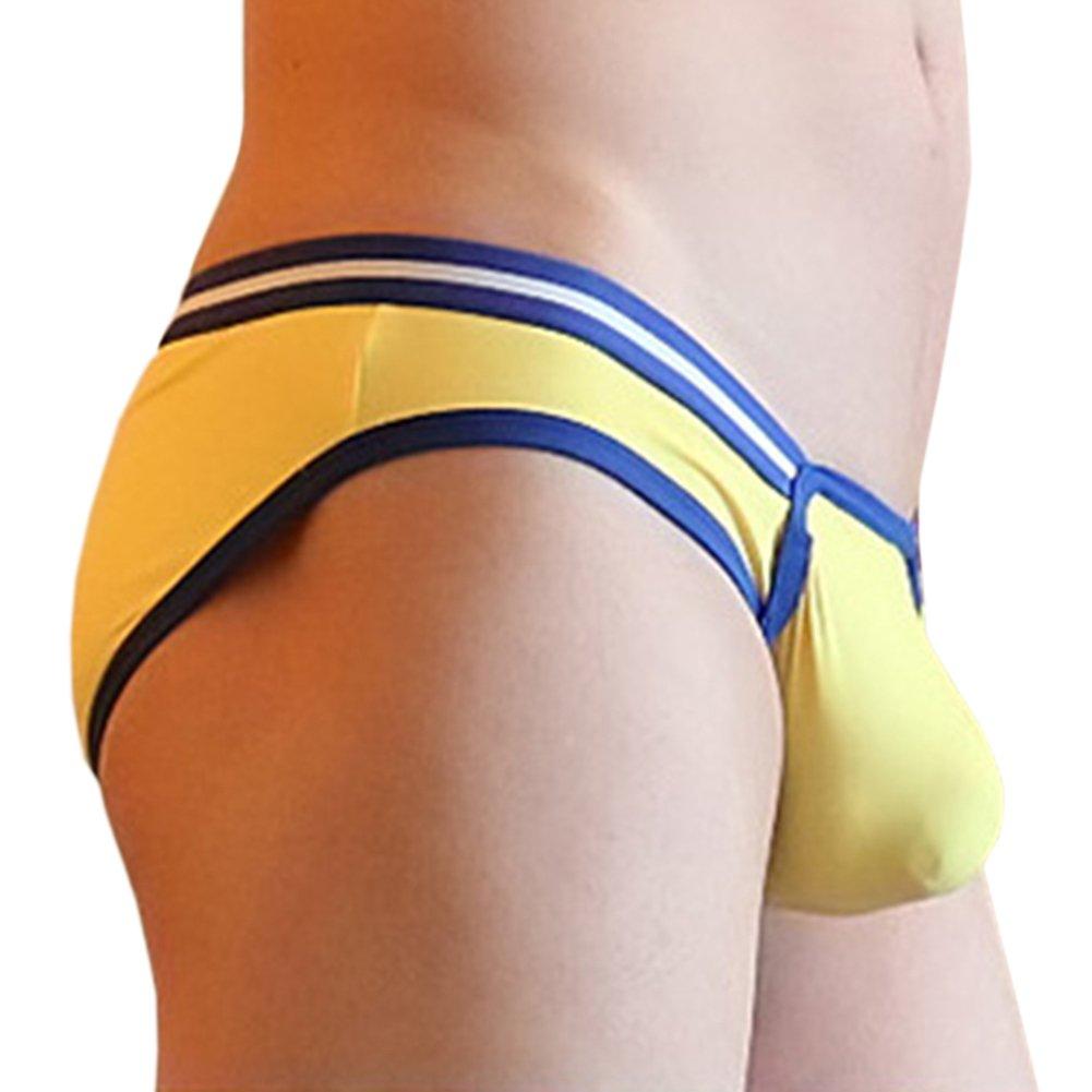 X/&F Mens Fashion Low Rise Bulge Pouch Bikini Brief Breathable Underwear