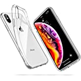 "ESR Funda para iPhone XS MAX, Funda para Suave TPU Gel Ultra Fina Protección a Bordes y Cámara Compatible con Carga Inalámbrica Enjaca Compatible para Apple iPhone XS MAX de 6.5""-Transparente"