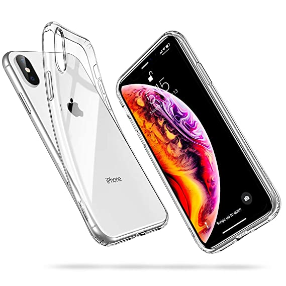 huge discount d3944 ac991 ESR Slim Clear Soft TPU Case for iPhone Xs Max, Soft Flexible Cover  Compatible for 6.5 inch Xs Max(2018 Release)(Jelly Clear)